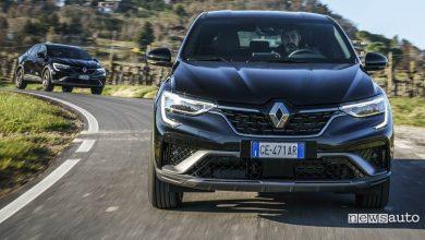 Renault Arkana prova su strada