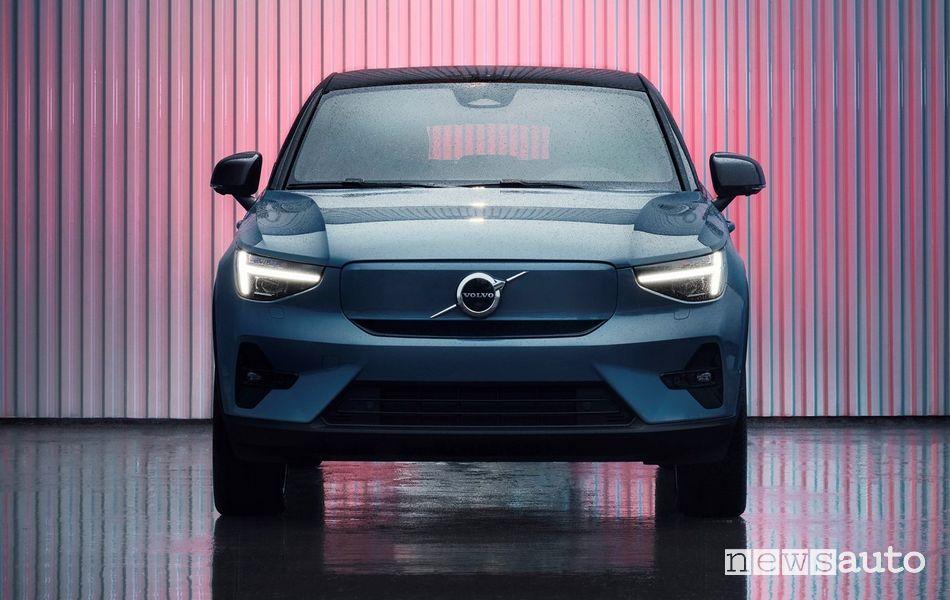 Frontale Volvo C40 Recharge elettrica