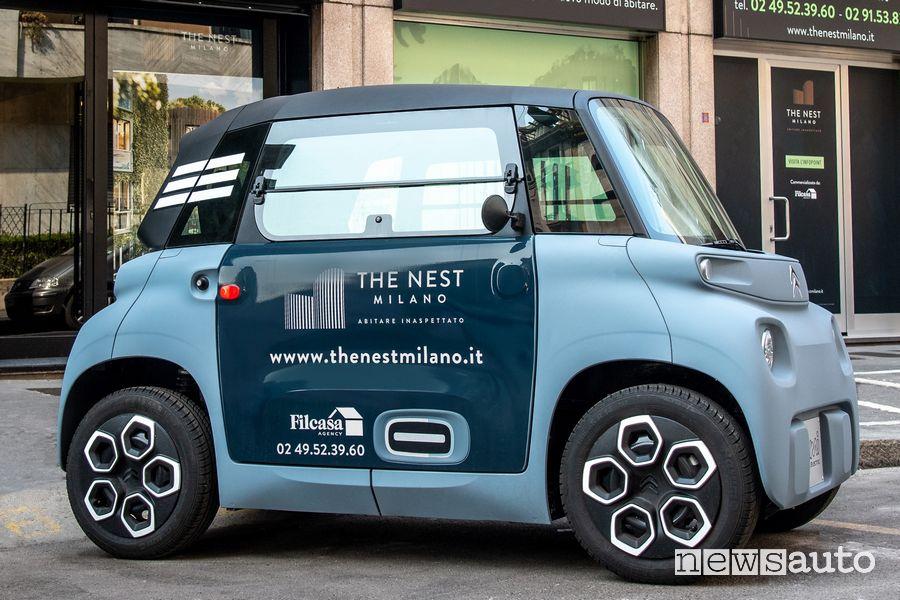 Car-sharing condominiale a Milano con Citroën Am