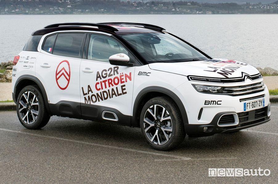 Citroën C5 Aircross ibrdia plug-in, ammiraglia del team AG2R Citroën Team