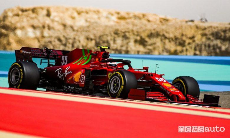 F1 Gp Bahrain 2021, orari diretta TV Sky e differita TV8