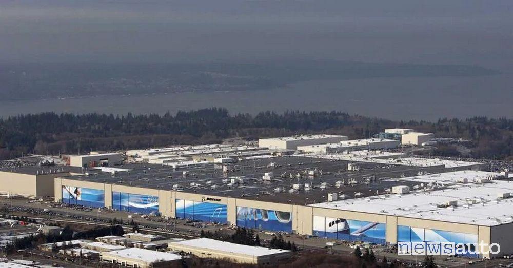 6) Fabbrica Boeing 2,8 km²