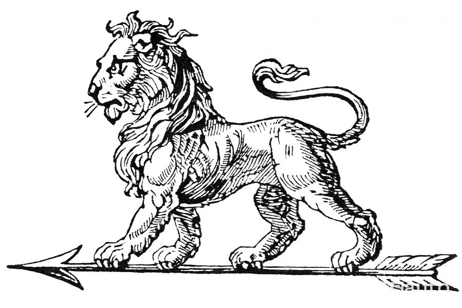 Logo leone Peugeot 1858