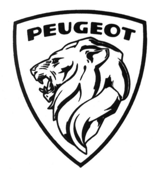 Logo leone Peugeot 1960