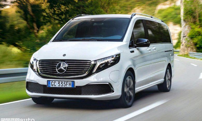 Photo of Mercedes EQV, test su strada della Classe V elettrica a 8 posti