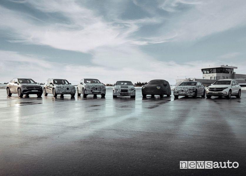auto elettriche Mercedes EQ