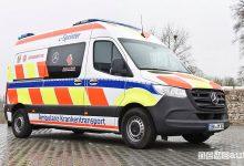 Photo of Ambulanza elettrica, caratteristiche e autonomia dell'eSprinter primo soccorso