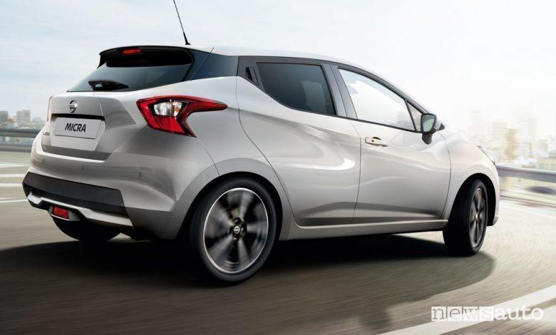 Nissan Micra GPL, caratteristiche e prezzi