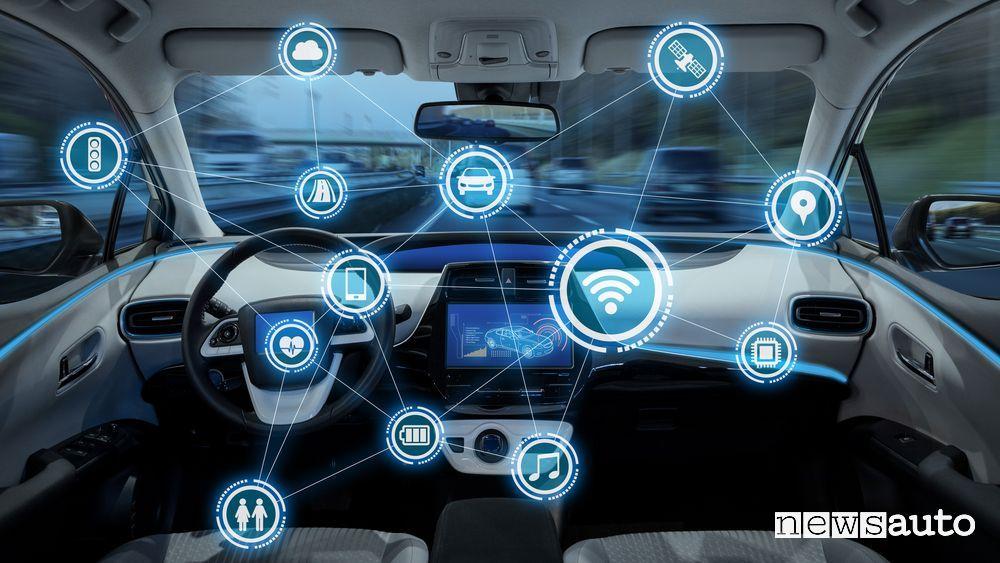 Auto sempre più connesse tanti benefici ma anche rischi