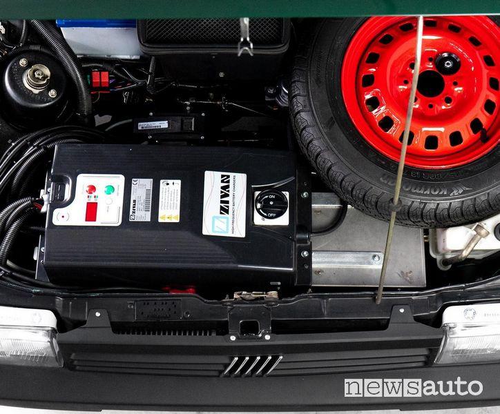 Vano motore elettrico Panda 4x4 Integral-e elettrica