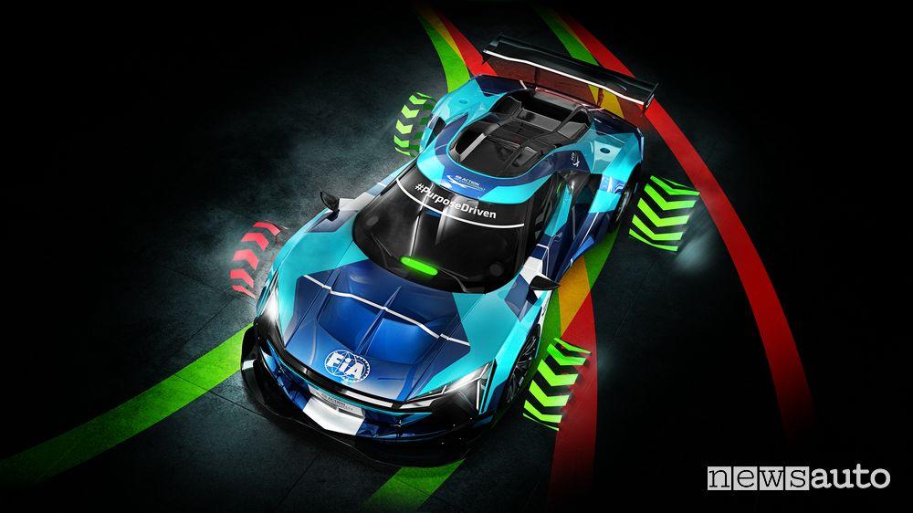 Auto da corsa elettriche GT Electric, caratteristiche