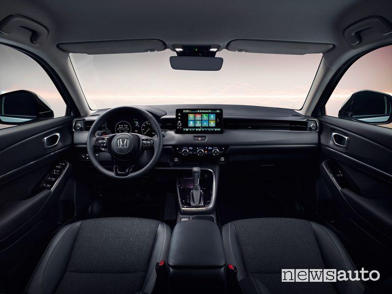 Plancia strumenti abitacolo nuovo Honda HR-V e:HEV