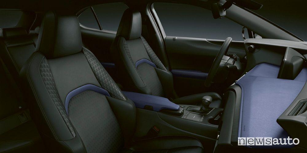 Abitacolo Lexus UX Hybrid Deep SKY
