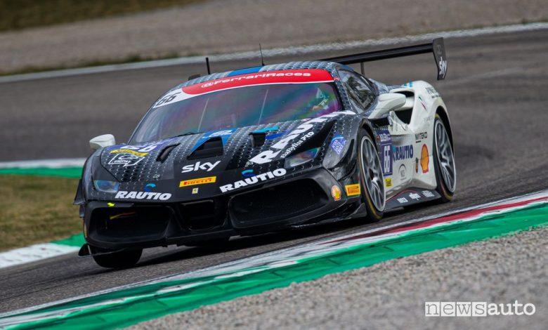 Luka Nurmi Vicnitore Gara 2 Trofeo Pirelli Ferrari Challenge di Monza