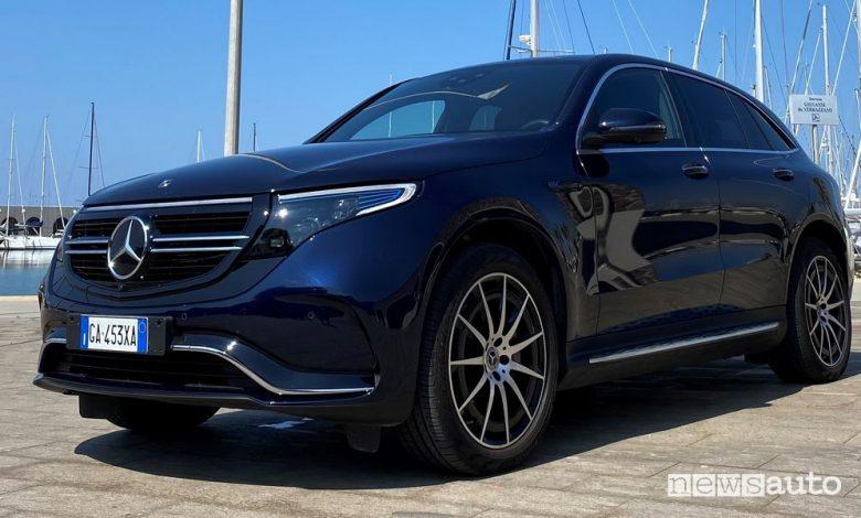Nuova Mercedes-Benz EQA elettrica