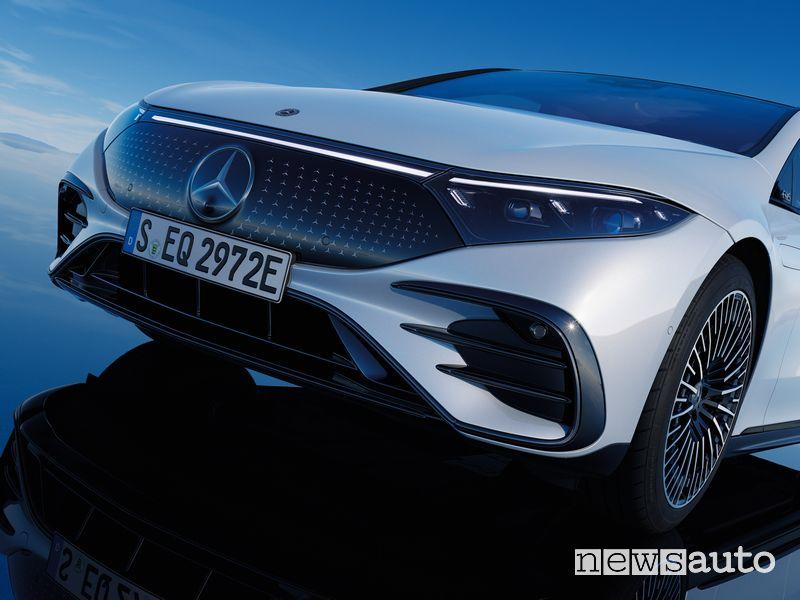 Paraurti anteriore Mercedes-EQ EQS elettrica