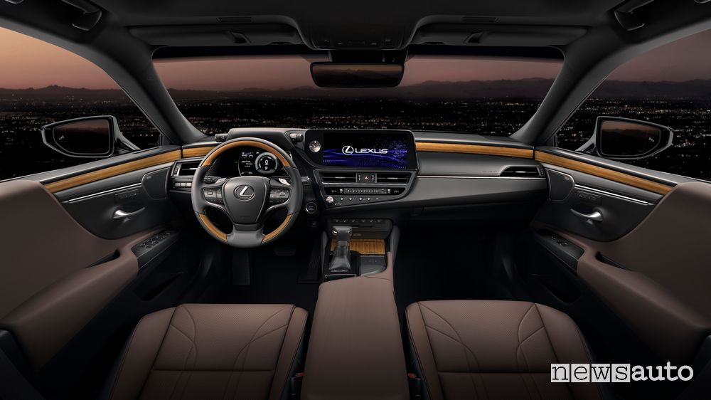 Plancia strumenti abitacolo nuova Lexus ES
