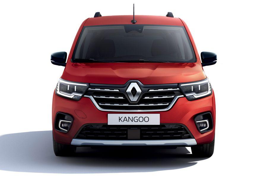 Frontale nuovo Renault Kangoo