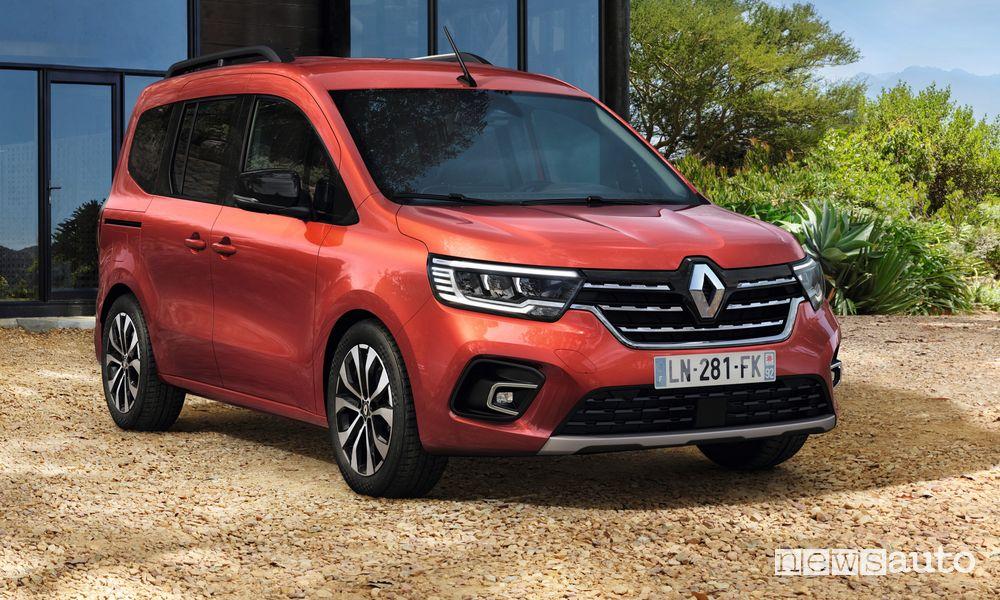 Vista di profilo nuovo Renault Kangoo