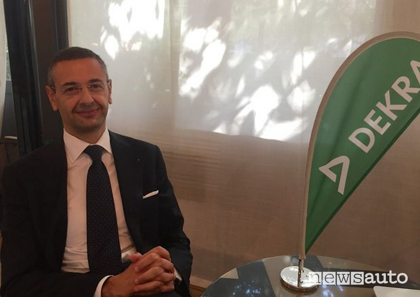 Toni Purcaro, President of Dekra Italia and Vice President of DEKRA Group