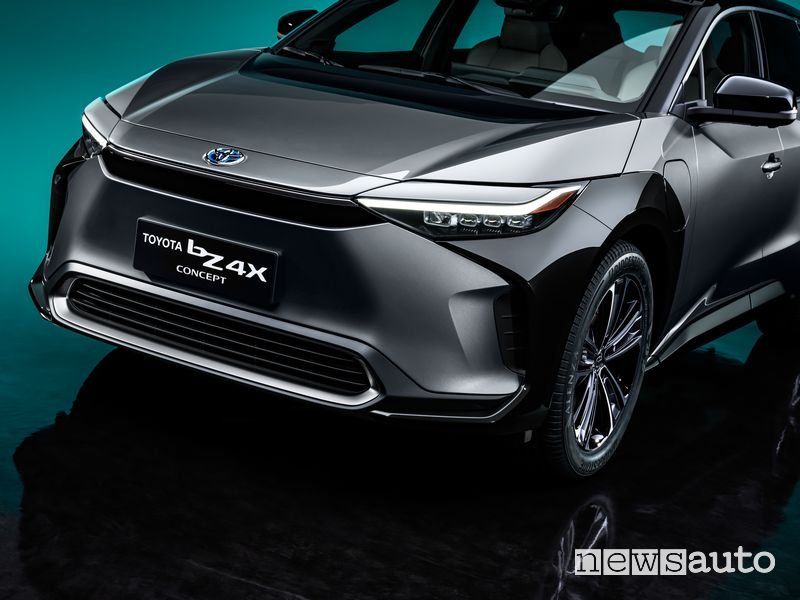 Frontale Toyota bZ4X Concept