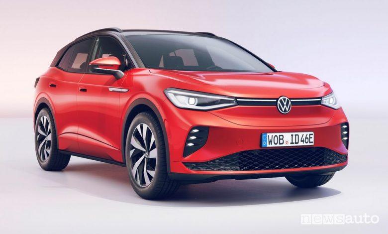 Nuovo Volkswagen ID.4 GTX