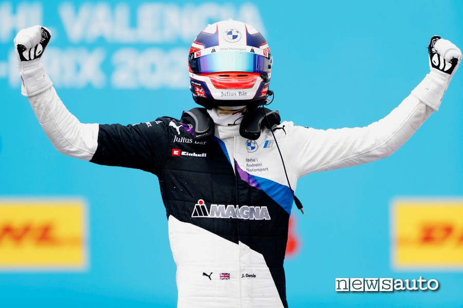 Gara ePrix Valencia 2021 risultati Jake Dennis