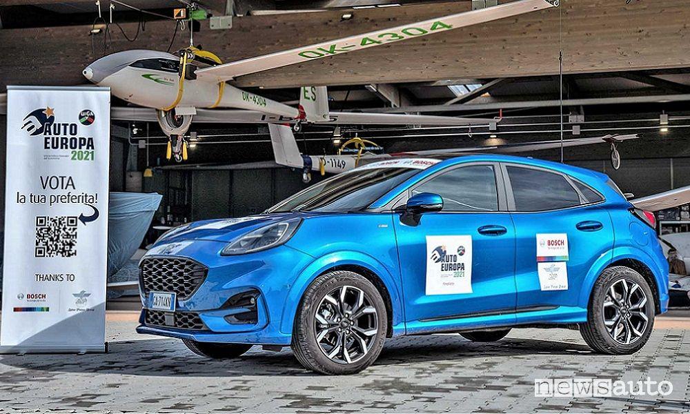Ford Puma, premio Auto Europa 2021 Opinion Leader