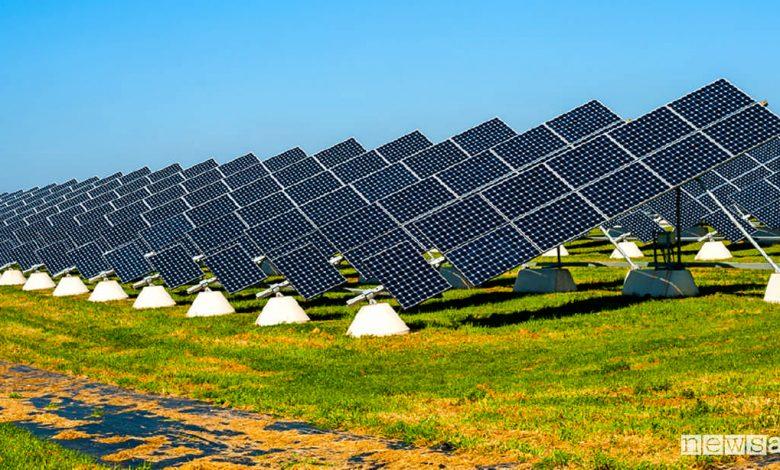 Ecco come si presenta il parco fotovoltaico che nel 2020 era il più grade in Italia.