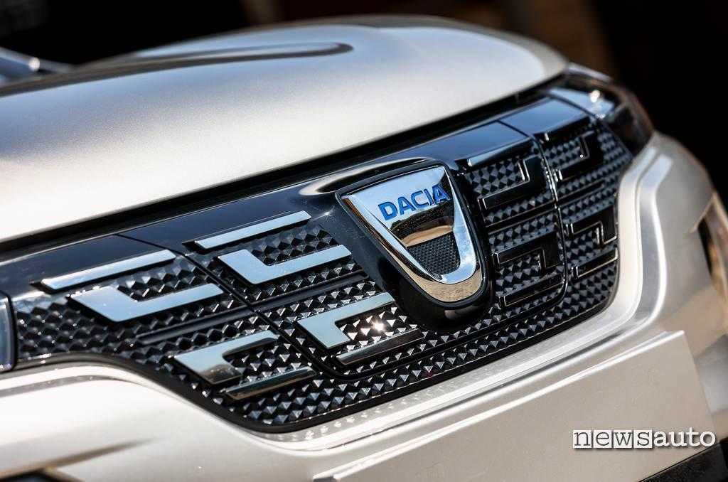 Mascherina Dacia Spring Electric 2021
