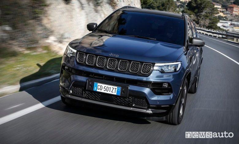 Nuova Jeep Compass, caratteristiche, versioni, allestimenti e prezzi 2021