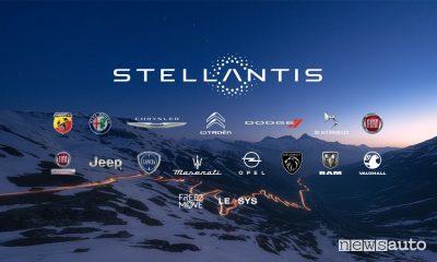 Auto vendute da Stellantis in Europa