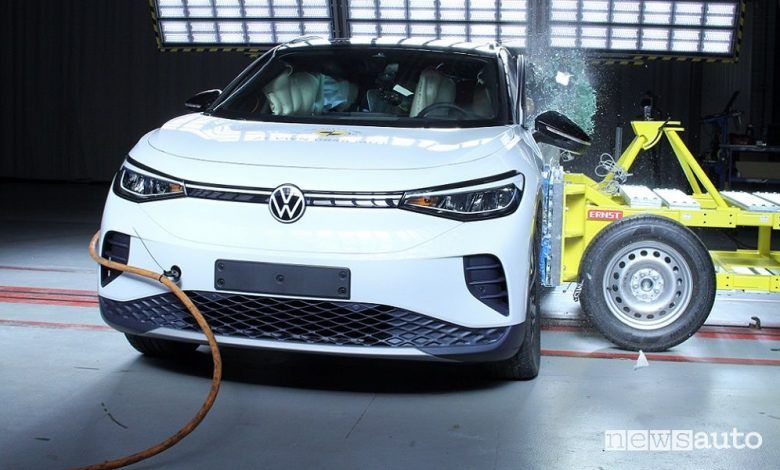 Crash test Euro NCAP Volkswagen ID.4