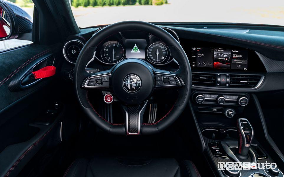 Volante abitacolo Alfa Romeo Giulia GTAm