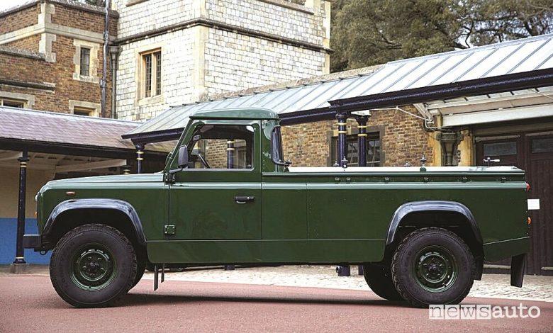 Land Rover Defender funebre del Principe Filippo
