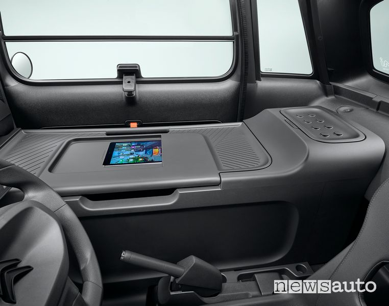 Pianale per documenti, tablet Citroën My Ami Cargo