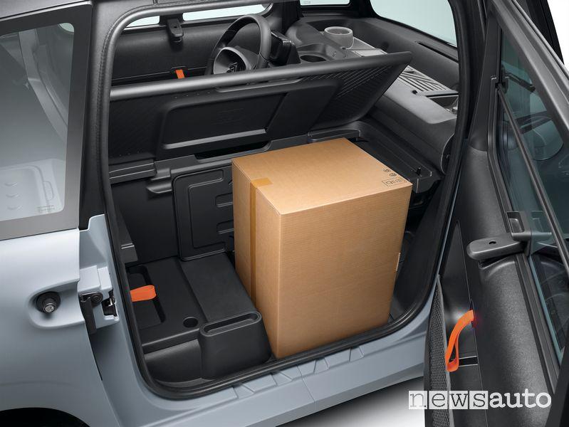 Spazio di carico di 260 litri Citroën My Ami Cargo