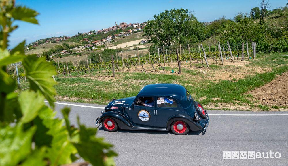 Fiat 508/C del 1937 Coppa Milano Sanremo 2021