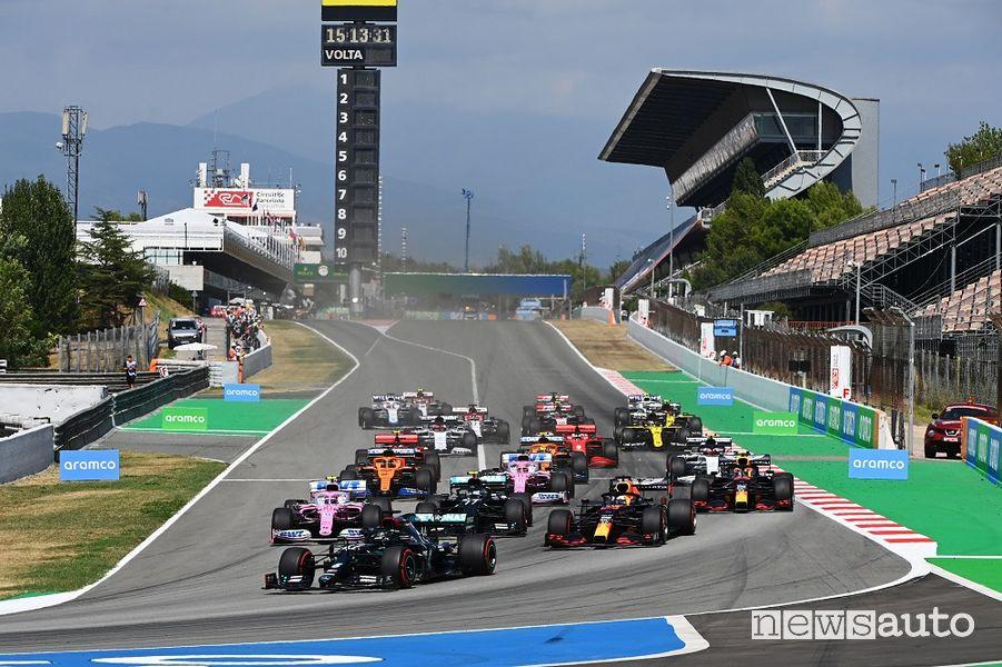 Orari Gp Spagna F1 2021 SKY e TV8