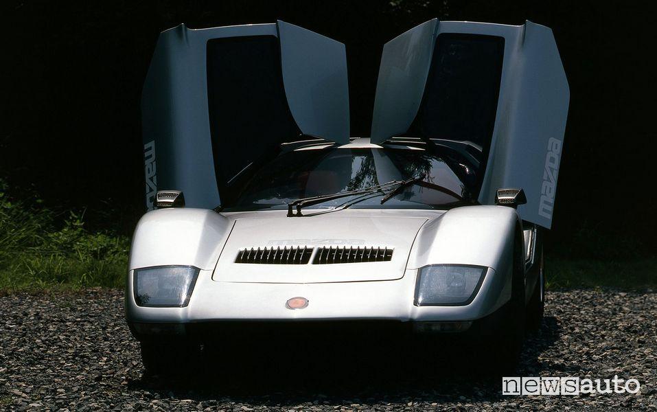 Portiere ali di gabbiano Mazda RX500 prototipo
