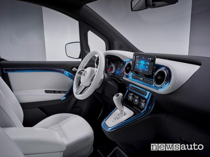 Plancia strumenti abitacolo Mercedes-EQ Concept EQT