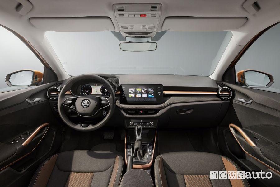 Plancia strumenti abitacolo nuova Škoda Fabia