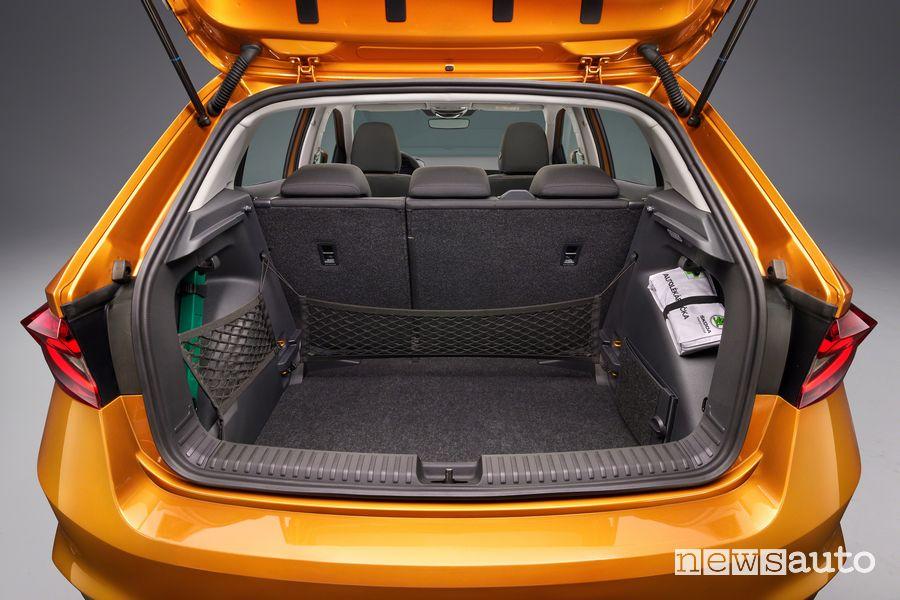 Bagagliaio nuova Škoda Fabia