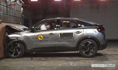 Euro NCAP Citroën C4, crash test a 4 stelle