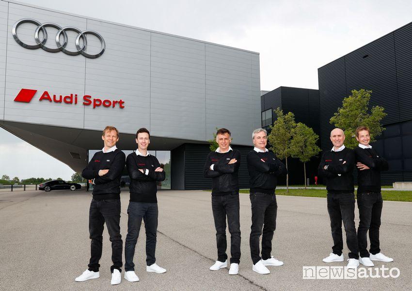 Piloti Audi alla Dakar 2022