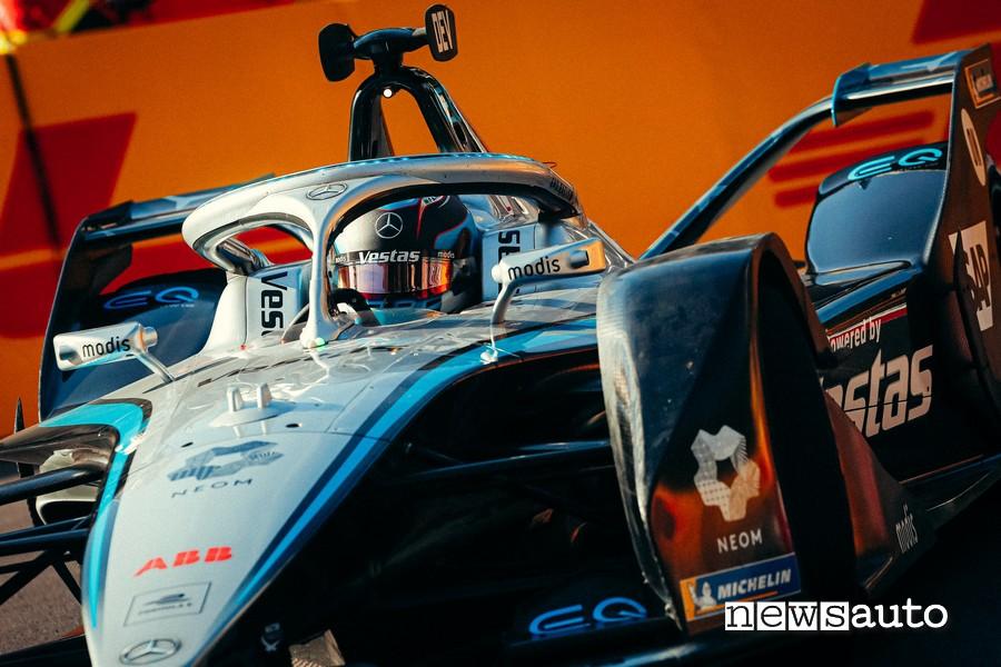 ePrix Monaco 2021 Nyck De Vries Mercedes sulla Formula E