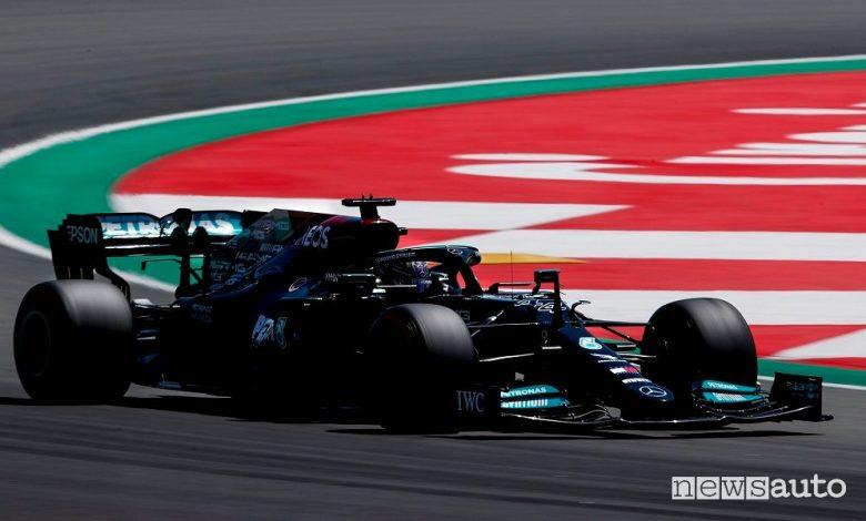 F1 Gp Spagna, la Mercedes vince la gara con Hamilton [foto classifiche]