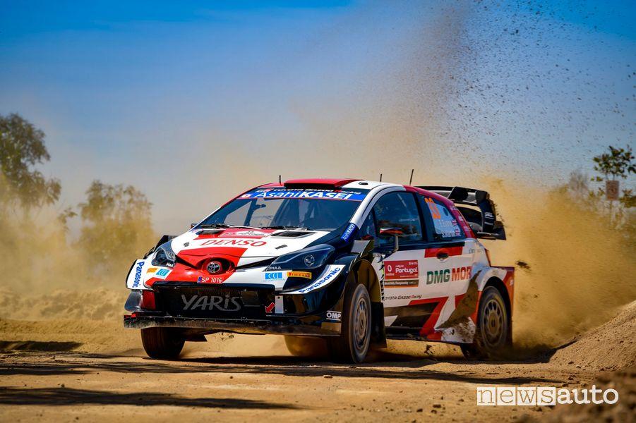 Evans con la Toyota ha vinto il Rally del Portogallo 2021