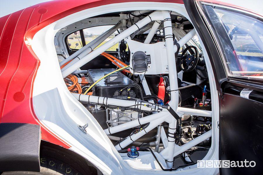 Vano per la ricarica Alfa Romeo Giulia ETCR by Romeo Ferraris