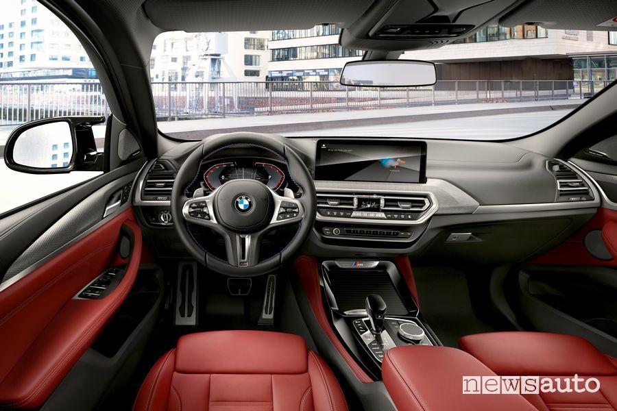 Plancia strumenti abitacolo nuova BMW X4
